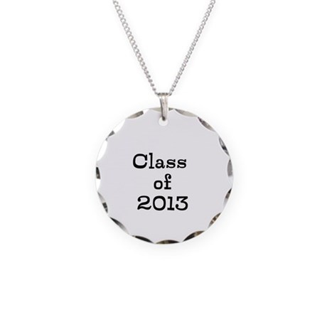 Class of 2013 Necklace Circle Charm
