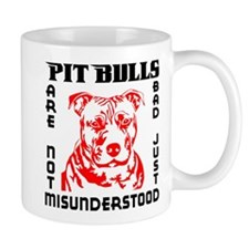 PIT BULLS ARE NOT BAD Mug