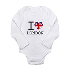 Cool Vintage london Long Sleeve Infant Bodysuit