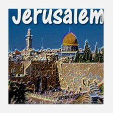 jerusalem Tile Coaster