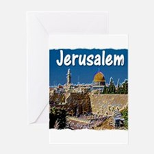 jerusalem Greeting Card