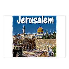 jerusalem Postcards (Package of 8)
