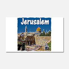 jerusalem Car Magnet 20 x 12