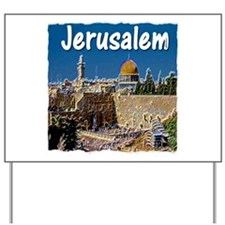 jerusalem Yard Sign