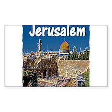 jerusalem Decal