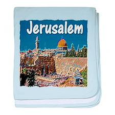 jerusalem baby blanket
