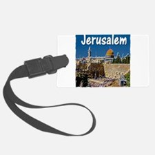 jerusalem Luggage Tag