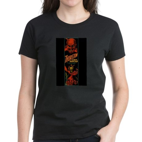 Vintage Magician Thurston Women's Dark T-Shirt
