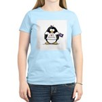 Wyoming Penguin Women's Pink T-Shirt