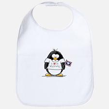 Wyoming Penguin Bib