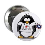 Wyoming Penguin Button