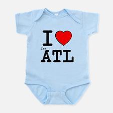 I Love The ATL Infant Bodysuit