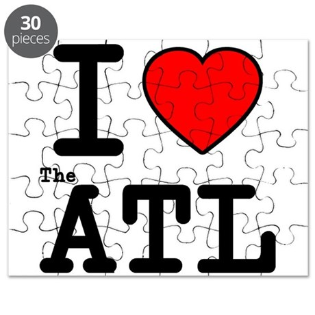 I Love The ATL Puzzle