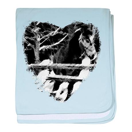 Horse Lover baby blanket