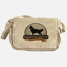 Golden Retriever Messenger Bag
