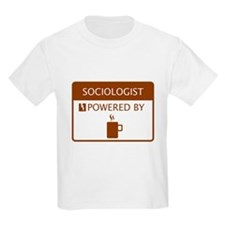 Sociologist Powered by Coffee T-Shirt