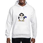 Wisconsin Penguin Hooded Sweatshirt