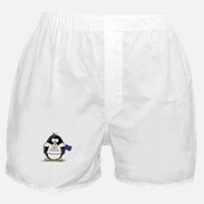 Wisconsin Penguin Boxer Shorts