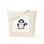Wisconsin Penguin Tote Bag