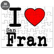 I Love San Francisco Puzzle