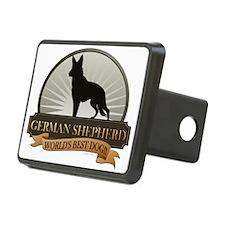 German Shepherd Rectangular Hitch Cover