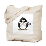 West Virginia Penguin Tote Bag
