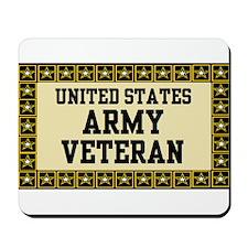 UNITED STATES ARMY VETERAN Mousepad