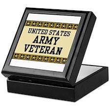 UNITED STATES ARMY VETERAN Keepsake Box