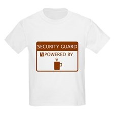 Security GuardPowered by Coffee T-Shirt