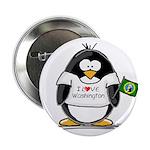 Washington Penguin Button