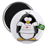 Washington Penguin Magnet