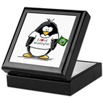 Washington Penguin Keepsake Box