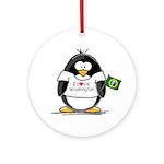 Washington Penguin Ornament (Round)
