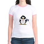 Virginia Penguin Jr. Ringer T-Shirt