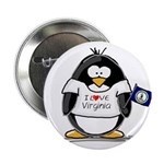 Virginia Penguin Button