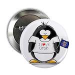 Utah Penguin Button