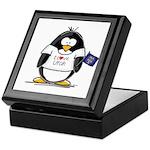 Utah Penguin Keepsake Box