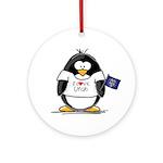 Utah Penguin Ornament (Round)