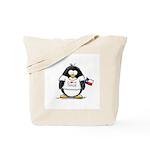 Texas Penguin Tote Bag