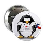 Texas Penguin Button