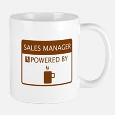 Sales Manager Powered by Coffee Small Small Mug