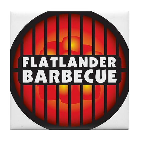 Flatlander Barbecue Competition Barbecue Team Tile