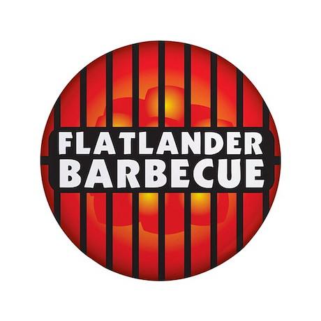 "Flatlander Barbecue Competition Barbecue Team 3.5"""