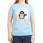 Tennessee Penguin Women's Pink T-Shirt