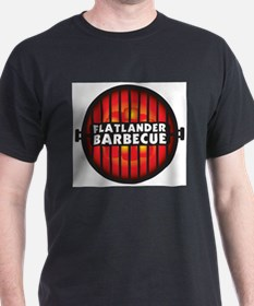 Flatlander Barbecue Competition Barbecue Team T-Shirt
