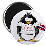 Tennessee Penguin Magnet