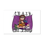 Crazy Cat Lady Mini Poster Print
