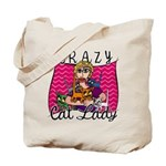 Crazy Cat Lady [Blonde] Tote Bag