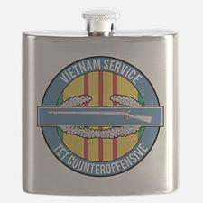 Vietnam TET 69 CIB Flask