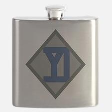26th Infantry Yankee Div Flask